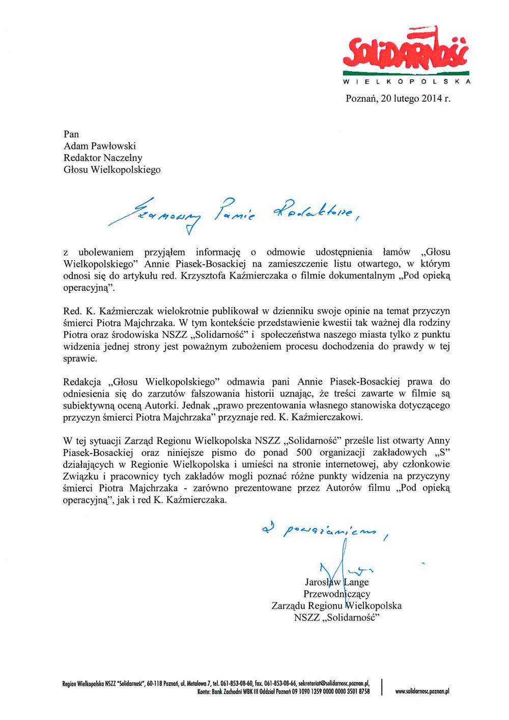 List-do-Redaktora-Naczelnego-Glosu